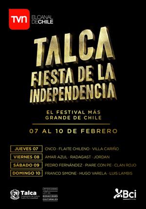 Fiesta De La Independencia De Talca 2019 Viernes